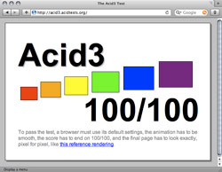 Acid3 i Safari 4 Beta