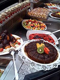 Dessertbord i Amsterdam