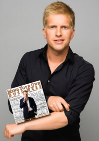 Författaren Gustaf Oscarsson