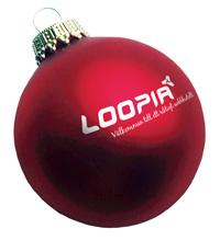 Julkula med Loopia-logga