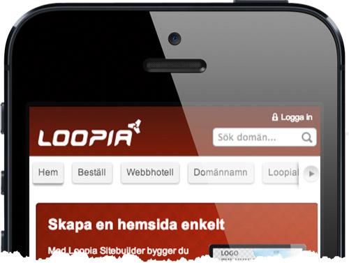 loopia-meny
