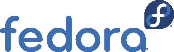 Fedora-logotyp. En av de Linux-distributioner du kan använda till din VPS hos Loopia.