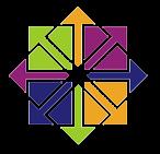 CentOS-logotyp. En av de Linux-distributioner du kan använda till din VPS hos Loopia.
