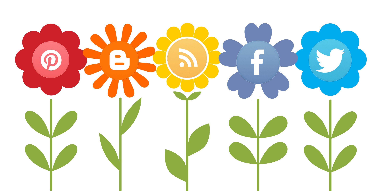 sociala-medier-blommor