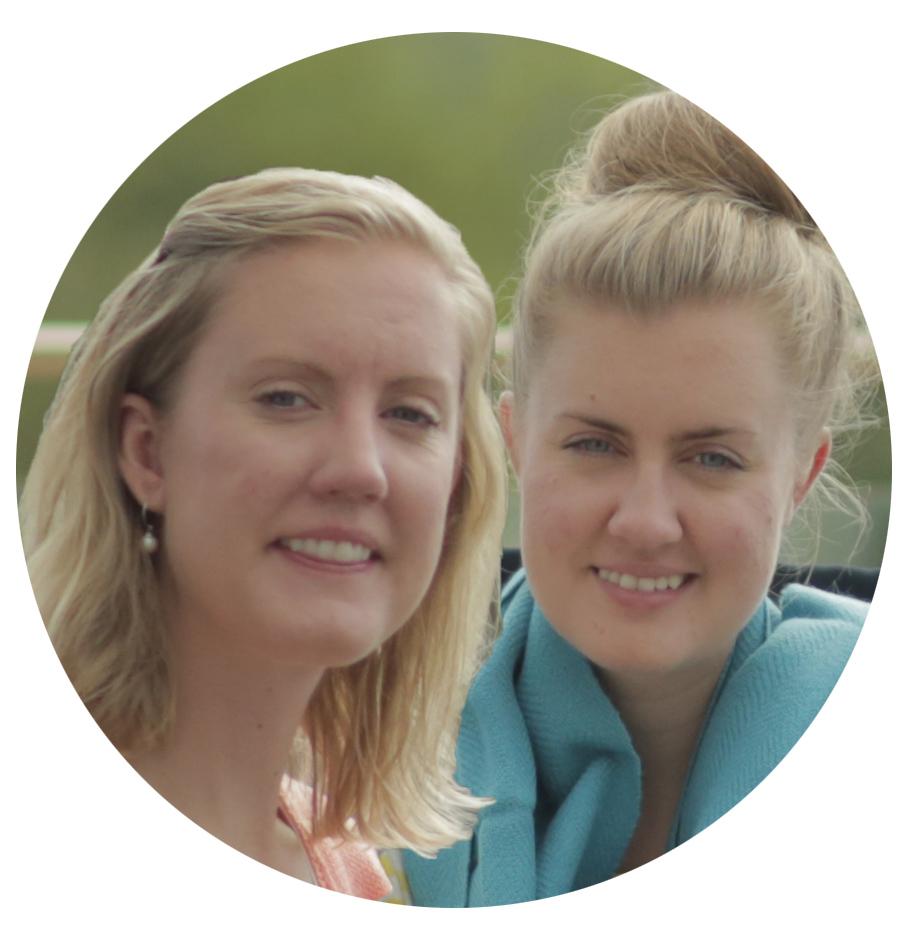 Anna och Lina från House of Soko som säljer fairtrade-produkter från hela världen i sin e-handel.