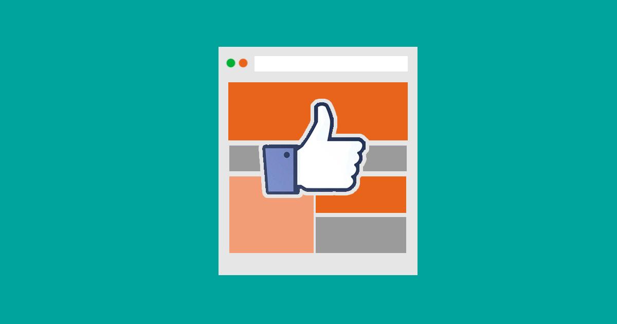 """Facebooks klassiska """"tumme-upp"""" - Befinner sig ditt företag i rätt sociala medier?"""