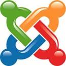 Joomlas logotyp. Vi varnar för att intrång i äldre versioner av Joomla ökar kraftigt.