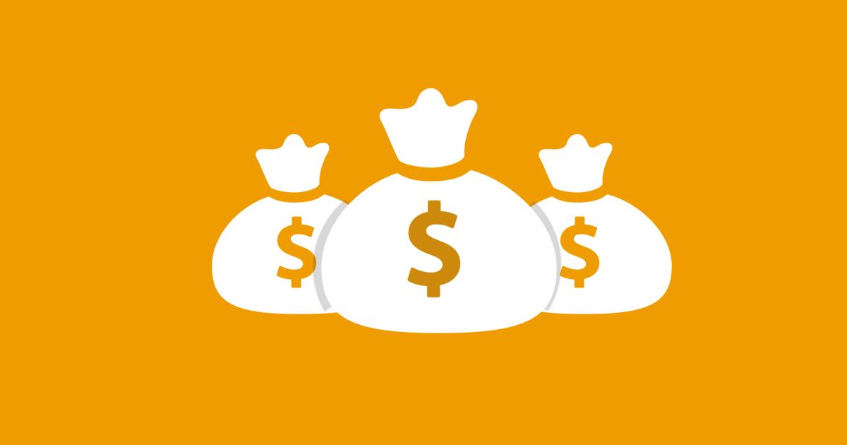 Myntpåsar som illustrerar tips nr 3 för att öka konverteringsgraden i din e-handel: Uppmuntra till köp.