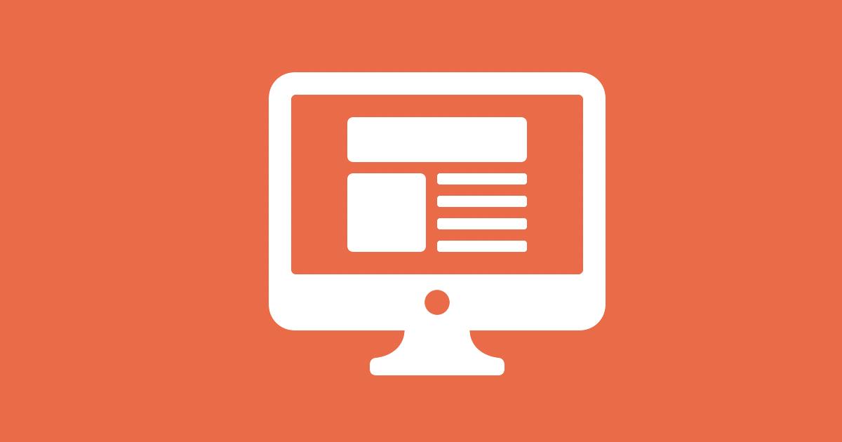 Datorskärm med innehåll som illustrerar hur du gör för att öka kvalitén på din företagssajt.