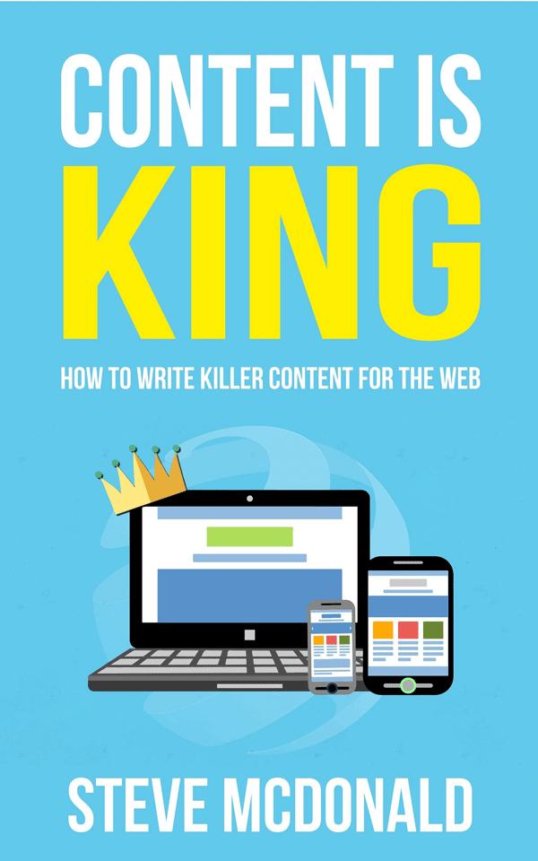 Content is king - ett av våra boktips.