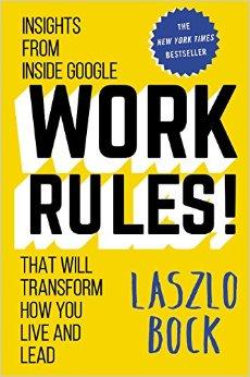 Work rules! - ett av våra boktips.
