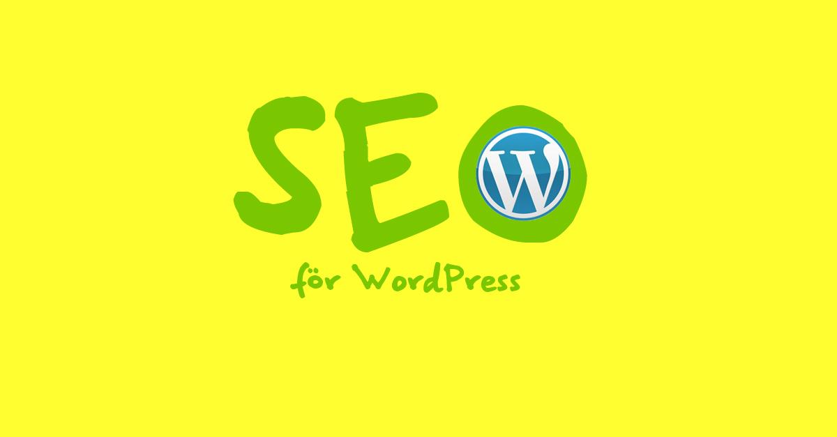 SEO för WordPress