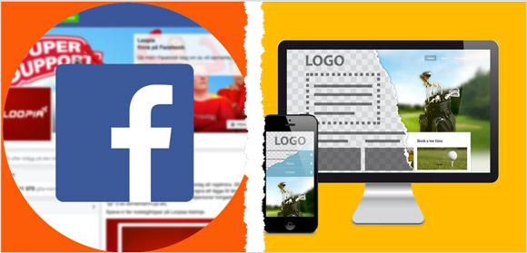 Hemsida vs Facebook - därför behöver ditt företag båda delarna