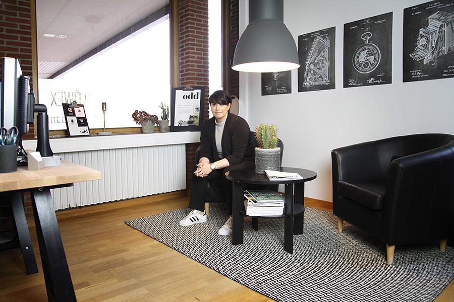 Intervju med Loopia-partnern Nina Möller från Oddkommunikation.