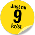 .SE-domännamn 9 kr/st
