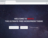 WordPress hos Loopia - exempeltema 5