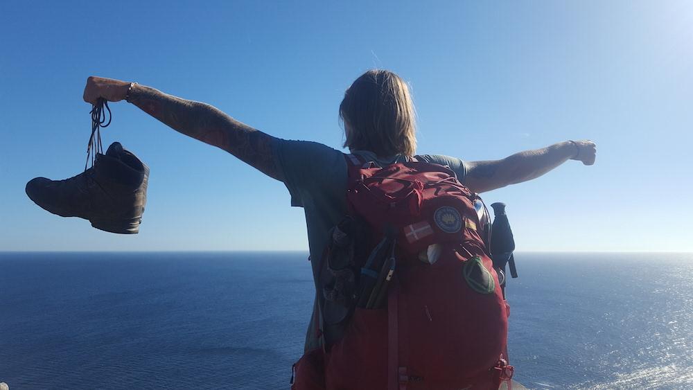 Viktor Jinnevång gick från droger och kriminalitet till att vandra från Norrköping till Spanien
